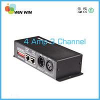 Wholesale V V Channel A DMX Decorder LED Controller for RGB LED Strip Light