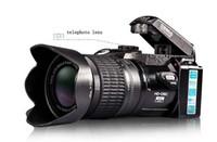 Wholesale DSLR MP HD D3300 Digital Camcorder Camera Wide Angle Lens x Optical Telescope Lens