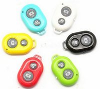 Wholesale 10M Wireless Bluetooth Selfie tool Remote Camera Control for iphone s sumsang s3 s4 note note all phone
