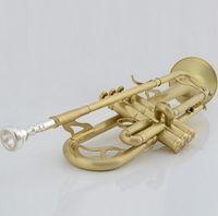 Wholesale JBTR Brushed matt new advanced instruments trumpet playing trumpet challenger