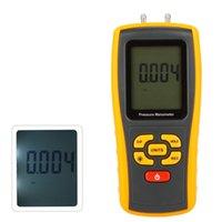 Wholesale GM511 Portable USB Digital LCD Pressure Gauge Differential Pressure Manometer Measuring Range kPa