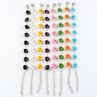 Wholesale Hot Adjustable Bracelets with Enamel Turkey eyes Round Design color
