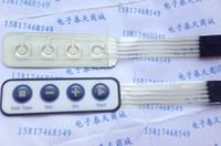 Wholesale new white surface Mini key Membrane Switch Monitor Switch Matrix keyboard Membrane keypad control surfaces
