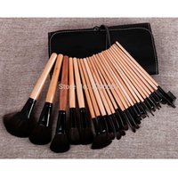 real techniques makeup brush - 2014 new arrival mary kay real Professional synthetic hair wood handle techniques Makeup Brush sets kits
