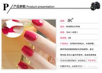 Wholesale Fashion op Nail Polish Lacquer Candy Color Easy Day Enamel Polish Nail Art Decoration Nails Nail Lacquer Nail Art Salon Gel colors WG2