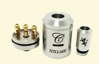 Cheap Stainless Steel stillare V2 Rebuildable Dripping Atomizer RBA RDA Clone by Tobeco Tank Vaporizer for King Chi you nemesis mechanical mods