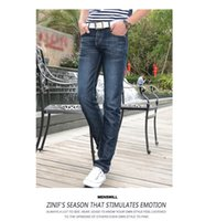 cheap jeans for men - Sale Newest Men s Summer Long Jeans Hot Sale Cheap soft material trousers for men more review size