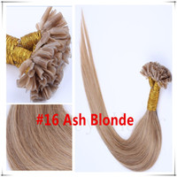 auburn hair dye - Fusion Hair Extensions Italian Keratin NAIL U TIP Ombre Two Tone Dye Hair Extension g g s