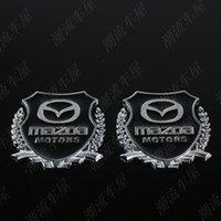 Wholesale Mazda mazda cx5 CX7 metal car emblem MAZDA remoulded car discontinuing