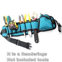 Wholesale High Quality Canvas Tool Kits Bag Hanger Waterproof Wear Multifunction Lumbar Bag Waist bags
