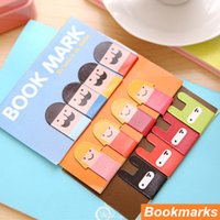 Wholesale 144 in set Magnetic bookmarks for books Funny marker Magnet book holder marcador de livro materials School supplies