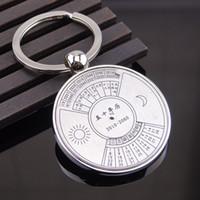 animal water features - Features Creative commodity Classics calendar in English calendar keychain compass keychain