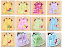 bebe tank - Cartoon Baby Girl Dress Colors Tank Tops Toddler T Shirts Jumpers Bebe Girls Dresses Tutu Dress Outfits