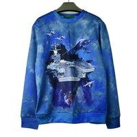 airport print - 2015 New d sweatshirt airport printed autumn winter casual pullover hoodies men women long sleeve tops Drop Shipping