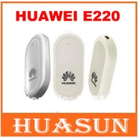 Wholesale Freeshipping Unlocked Huawei E220 G HSDPA wireless MODEM Support Android Tablet PC