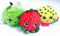 Wholesale Stuffed Plush Toys cm Stuffed doll Toys Cookie Strawberry Kiss Apple Stuffed Plush Toys for Kids Christmas Gifts