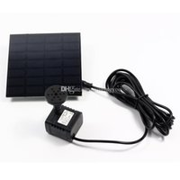 Wholesale DHL shipping Solar Power Water Pump with Separate Solar Panel long cable Watt goodbiz