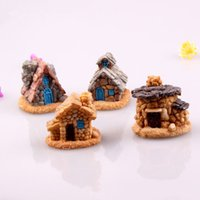 Wholesale High Quality Stone Fairy Garden Miniature Craft Micro Cottage Landscape Decoration Random Style For DIY Resin Crafts Decoration