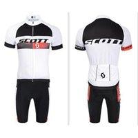 Wholesale 2015 New Arrival Scott Cycling Jersey Short Sleeve Cycling Jerseys Bib Mountain Bike Jerseys High Quality Bicycle Jersey