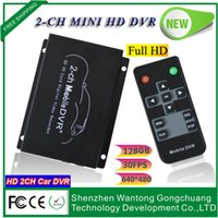 audio input recorder - The new ch SD card car recorders dvr Supports two way video and audio synchronization input connected DVR