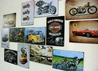 Wholesale 2014 cm airplane train motor auto bus vehicle Tin Sign Coffee Shop Bar Restaurant Wall Art decoration Bar Metal Paintings