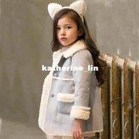 winter coat - Korean children s wear girls coat with thick fur one new winter coat