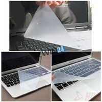 Wholesale 15 quot Universal high quality Keyboard Cover Skin Film Silicone Protector for Laptop Notebook Computer PC