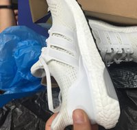 Wholesale 2015 mens fashion sneakers original quality Ultra white black Mesh Original Boost sports shoes Breathability running Shoes