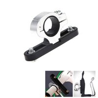 bicycle water bottle mount - Hot Sale Bike Bicycle Clamp Water Bottle Cage Holder Handlebar Mount Connector Metal Y0228