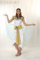 adult egyptian costumes - Halloween Exotic Sexy Adult Women Egyptian Nile Style Suit Cool Cosplay Costume for Stage Performance or Masquerade Party