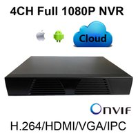 Wholesale ONVIF CH Mini NVR Full P Support P2P iCloud Service Mobile HDMI H ch network video recorder easy for IP Camera system