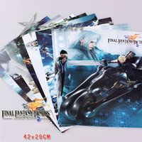 advanced room - Japanese Anime Final Fantasy Tactics Advance Game High Quality Embossing Posters Poster per set
