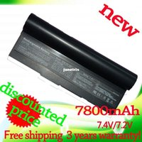 eee pc 1000h - Powerful v mAh black laptop battery for Asus Eee PC EPC HD H HD AAQ159571 AL23 AL24 AP23