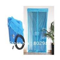 Wholesale Fly Screen Door Curtain Net Magnetic Stripe Door Mesh Prevent Mosquito Size cm arz99