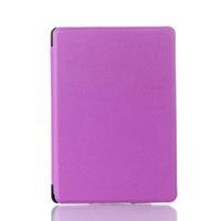 Wholesale Kindle Case Elonbo Purple Lancaster Design Protective PU Leather Case Cover for Kindle