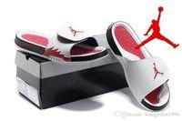 Wholesale Nike Men s Jordan Hydro V Retro Sandals Jordan Hydro High Quality Men J5 Massage Slippers Eur
