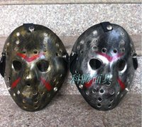 Wholesale more style Jason Voorhees Jason vs Freddy hockey festival party mask killer mask Halloween masquerade mask free ship