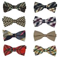 Wholesale 2015 MT10 Men s Cotton geometric Design Bow ties Men Vintage Wedding party pre tie Bow tie