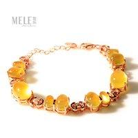 Wholesale Australian grape natural stone bracelet original design stylish atmosphere female jewelry gift of choice
