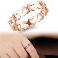 asian wedding ideas - Rose gold jewelry Heart to Heart Rose Miss Jin Loukong tail ring ideas girlfriends GJ436