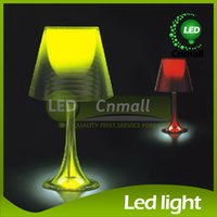 Wholesale Light Drawing Tables Wholesale - Italy Flos Miss K Table Lamp LED Acrylic Table Lamp Bedroom Besides Table Lights Desk Lamps Bedroom Drawing Room Table Light 6 Colors Choice