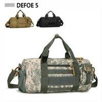 Wholesale Molle Panel Capacity Fitness Duffle Women Bag Ergonomics Explorer Sport Climbing Survival Police Military Carry Bag Retail