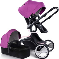 Wholesale Babysing high tech multifunctional baby stroller luxury by car with carrycot
