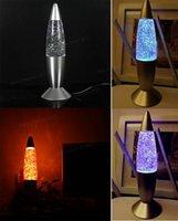 lava lamp - USB Light Multi color Changing Rocket Lava Lamp LED Glitter Gift for PC Laptop