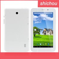Wholesale 7Inch Dual Core MTK8312 G Phone Call phablet android GHz tablet GPS bluetooth Wifi Dual Camera Dual sim card Phablet