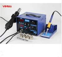 Cheap BGA desoldering station system YIHUA 862D+ soldering station