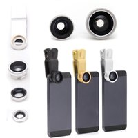 wide lens - New in1 Lens photo Clip Kit Set Fisheye Lens Wide Angle Macro Lens for iPhone c S Samsung Mobile Cell Smart Phone