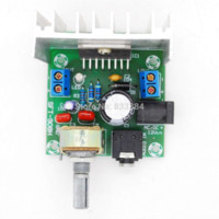 audio amplifier noise - AC DC12V TDA7297 Rev A Low Noise Audio Amplifier Board W Dual Channel Digital Stereo Amplifier
