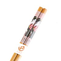 asian tableware - Japanese Girls Pattern Bamboo Chopsticks Asian Chopstick Tableware Dinnerware