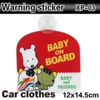 baby changing board - sign poster Car styling warning sticker Baby On Board sign babi movement